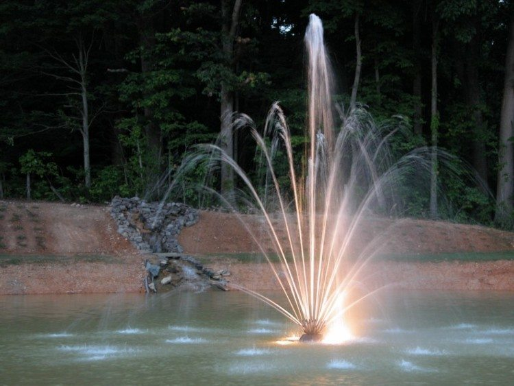 fountain and water falls at dusk a.jpg