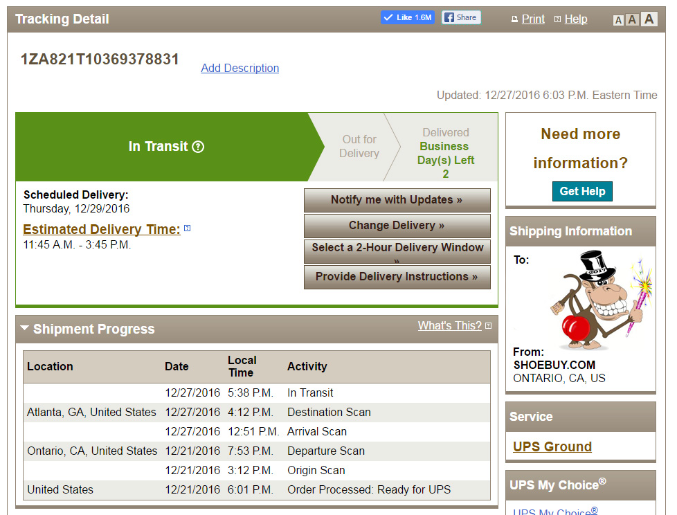 When will my package get to me? | BrownCafe - UPSers talking