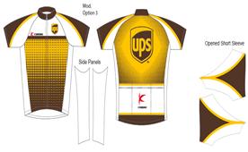 ups cycling jersey